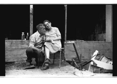 Couple on Longwood Avenue