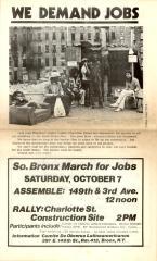 We Demand Jobs