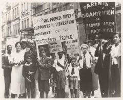 Parents Organization of East Lower Harlem, Supporting Puerto Rican Independence