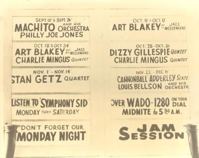 Flyer for Machito and his Orchestra