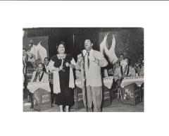 Machito and Graciela Perez-Gutierrez performing with Machito's orchestra