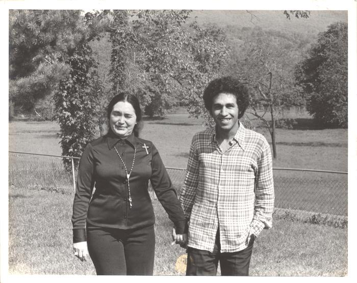 Lolita Lebrón and Carlos Ortiz
