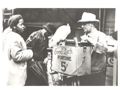 Street Vendor in New York City