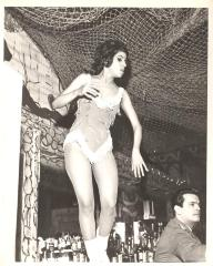 Dancer at a nightclub
