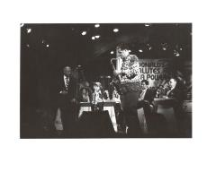 """Frank """"Machito"""" Grillo performing with his band"""