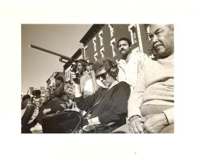 Filming of Machito Square Dedication