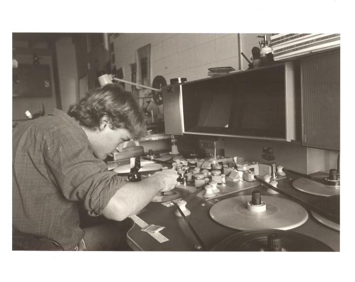 Machito documentary production still