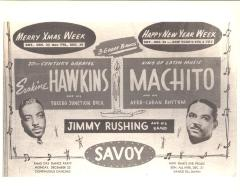 Flyer for Machito and his Afro-Cuban Rhythm