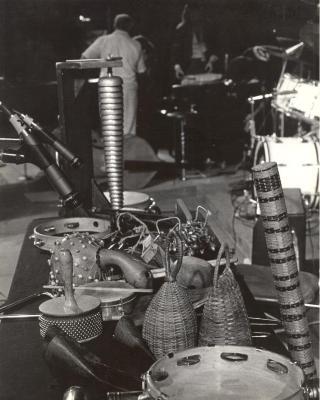 Latin percussion assortment