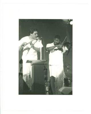 David Valentin (left)