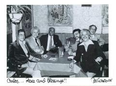 Ray Barretto, Tito Puente, Machito, Johnny Pacheco, and Charlie Palmieri