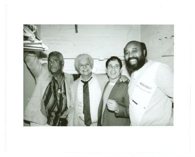 Paul Simon and Tito Puente