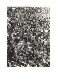 Crowd at Puerto Rican Day Parade
