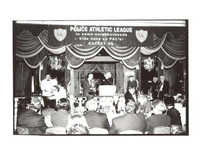 Banquet for Police Athletic League