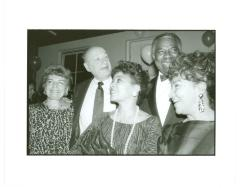 Puerto Rican Traveling Theatre with New York City Mayor Ed Koch