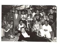 Boxing team at the Police Athletic League