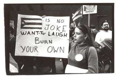 Puerto Rican protest