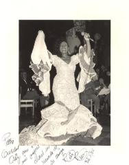 Celia Cruz in performance