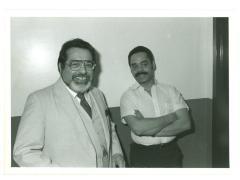Charlie Palmieri (left)