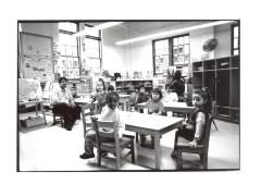 Children's classroom at the Police Athletic League