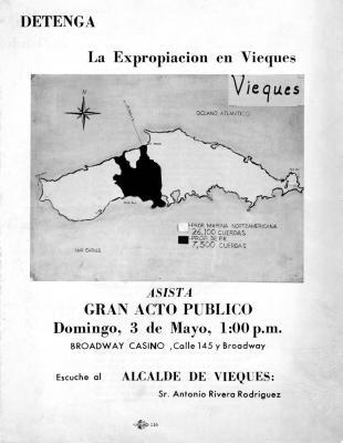 Detenga la Expropiacion en Vieques