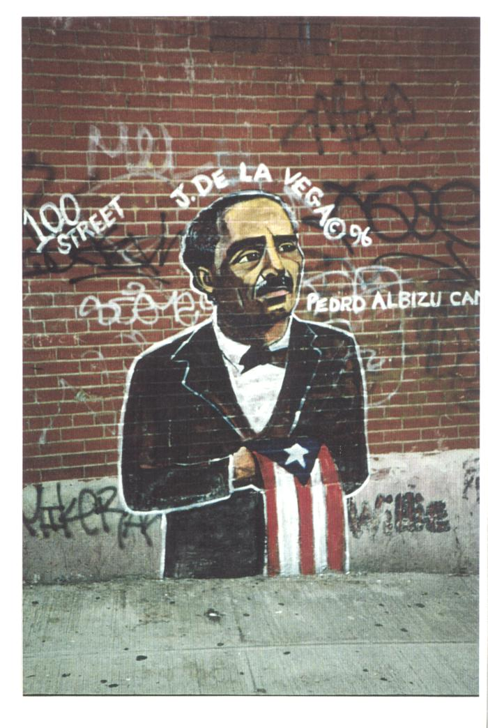 Graffiti Art of Pedro Albizu Campos