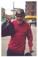 South Bronx man in firefighter hat