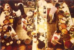 Kitchen scene
