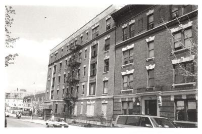 Bronx apartment building