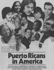 Puerto Ricans in America