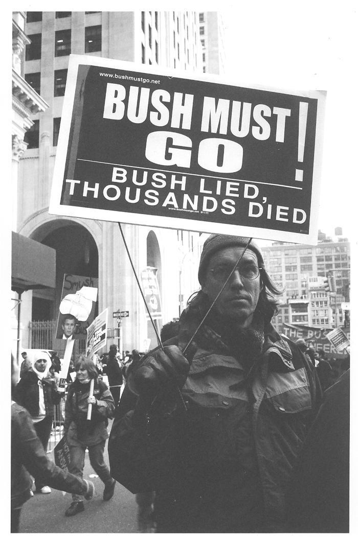 Anti-George W. Bush demonstration
