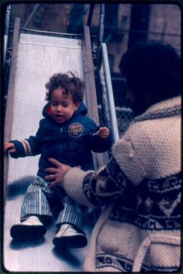 Jean Carlos, Carlos Ortiz' son