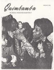 Quimbamba magazine cover
