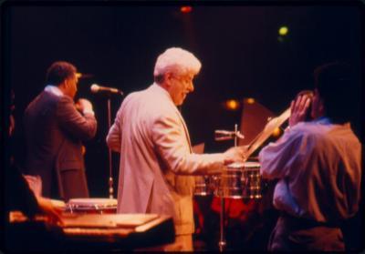 Tito Puente performing