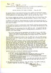 Minutes of the Repository of Puerto Rican Records Corporation