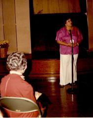 Evelina López Antonetty speaks
