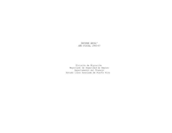 Annual Report 1956-57