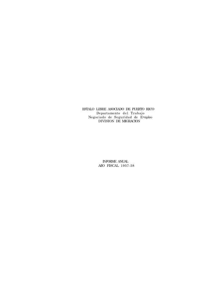 Annual Report 1957-58