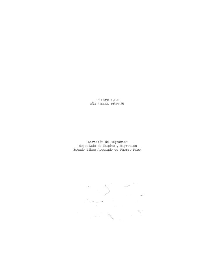 Annual Report 1954-55