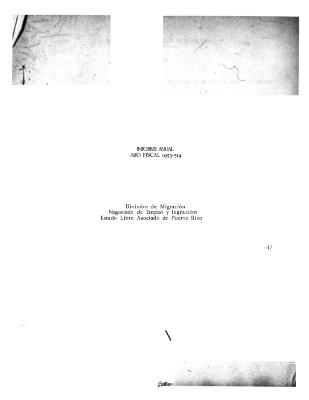 Annual Report 1953-54