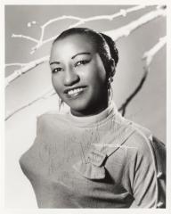 Cuban singer, Celia Cruz