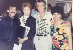 Gilda Mirós with Joe Papp