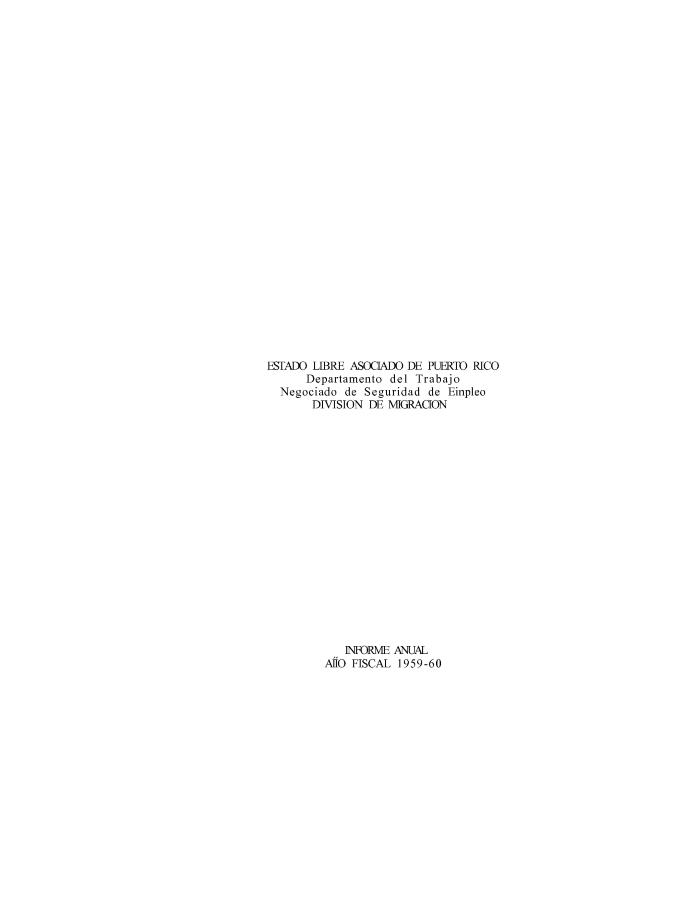 Annual Report 1959-60