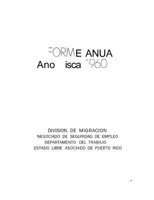 Annual Report 1960-61