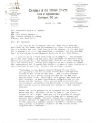 Correspondence to Melvin H. Miller from Robert Garcia