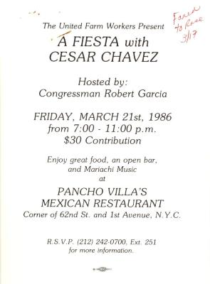 A Fiesta with Cesar Chavez
