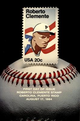 Commemorative Stamps of Roberto Clemente