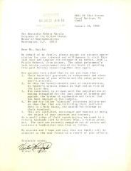 Correspondence to Robert Garcia from Victor J. Pujals