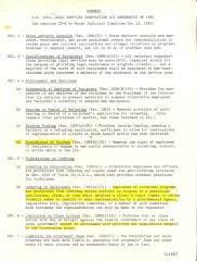 Summary of H.R. 3480, Legal Services Corporation Act Amendments of 1981