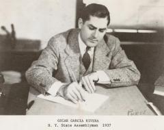 Oscar García Rivera, 1937 N.Y State Assemblyman